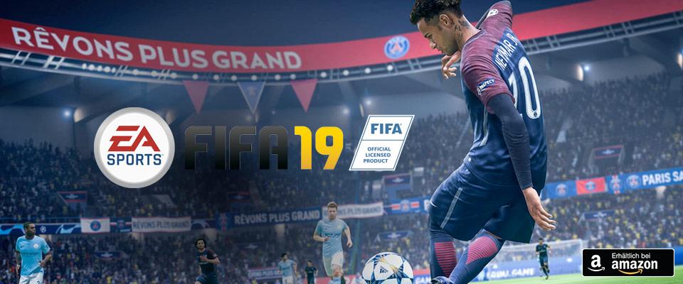 FIFA 19 jetzt auf Amazon vorbestellen!