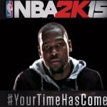 NBA 2K15 Packshot